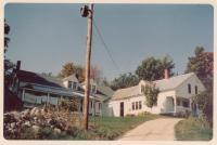 Wilbur McKenney house, North Sebago, 1967