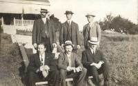 Gem Theatre Orchestra, Peaks Island, 1910