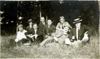 German Picnic, Long Island, 1912