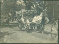 Nason Furniture float, Kennebunk, 1907