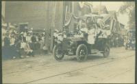 Motor car, Kennebunk parade, 1907
