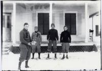 Fryeburg Academy football players, ca. 1908