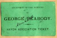 Haydn Association ticket, Portland, ca. 1869