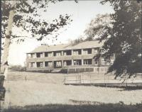 Girls' Lodge, Eastern Music Camp, Sidney, ca. 1931