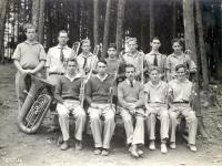 Brass section, Eastern Music Camp, ca. 1932