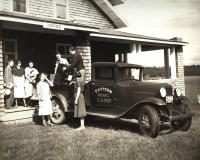 Arriving at Eastern Music Camp, Sidney, 1932
