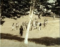 Up the hill, Eastern Music Camp, Sidney, ca. 1932