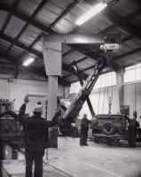 Moving an Air Compressor, Houlton, c. 1965