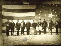 Union Brass Band, Ferry Village, 1873
