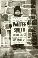 Concert advertisement, 1934
