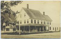 Marean Hotel, Steep Falls, Maine postcard, c. 1930