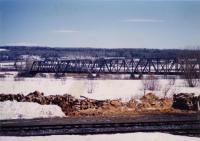 Van Buren International Bridge, ca. 1990