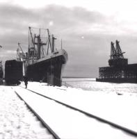 Bangor and Aroostook Railroad Pier, Searsport, ca. 1965