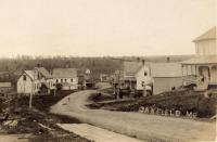 View of Main Street, Oakfield, c. 1910