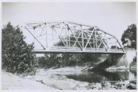 Steep Falls bridge in Limington, ca. 1940