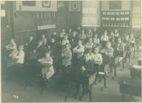Rosa E. True School students, Portland, 1921