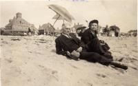 Jay and Mabel Preble, Ocean Park, ca. 1944