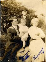 Jay M. Preble, parents and son, ca. 1913