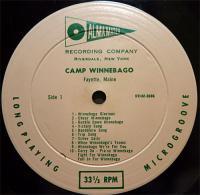 Camp Winnebago recording of Cheer Winnebago