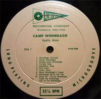 Camp Winnebago recording of Winnebago We're For You