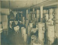 Wallpaper storage, Loring, Short & Harmon, ca. 1900