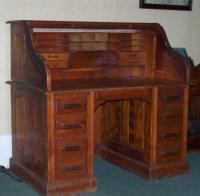 Sebago Post Office desk, ca. 1915