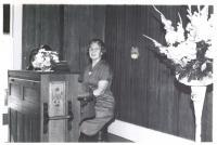 Helen Stickney, North Sebago, 1963