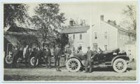 Roadsters, Burnell Tavern, West Baldwin, ca. 1916