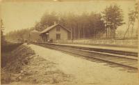 West Baldwin Station, ca. 1925