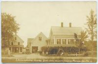 E. H. Chadbourne general store in East Baldwin