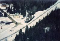 Bangor and Aroostook Railroad Station, Oakfield, ca. 1990