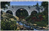 Bridge Over Duck Brook, Bar Harbor, ca. 1930