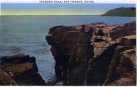 Thunder Hole, Bar Harbor, 1930