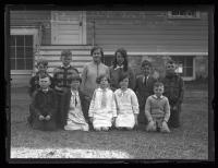 Cottage Farm School children, Cape Elizabeth, 1927