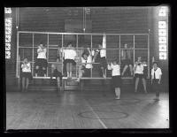 Gymnastics practice, Portland, 1927