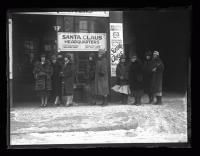 Santa Claus headquarters, Portland, 1926