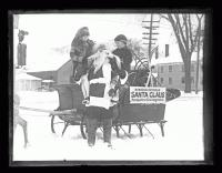 Santa and children, Portland, 1926