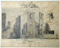 Cartoon, Portland Watch or Cracking Notes, ca. 1840