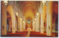 Nave, St. Peter and Paul Church, Lewiston