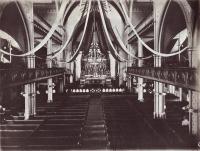 Interior, St. Peter Church, Lewiston, ca. 1900