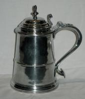 Silver tankard, ca. 1770