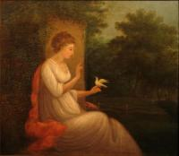 Lady with Dove, ca. 1830