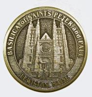 Basilica memorial coin, 2005