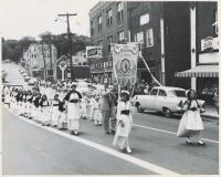 St. John the Baptist parade, Auburn, 1962