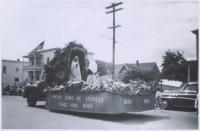 Parade St-Jean-Baptiste, Lewiston, 1958
