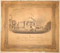 Diploma, Maine Charitable Mechanic Association, 1838