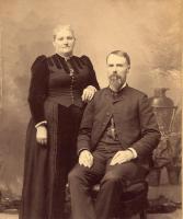 Reverend and Mrs. E. K. Drew, Hodgdon, c. 1880
