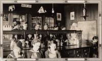 Science Class, St. Agatha High School, Notre Dame de la Sagesse High School, 1933