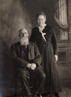 Elizabeth and John Crawford, Littleton, ca. 1890