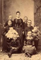 Kenneth McKay and family, Houlton, ca. 1890